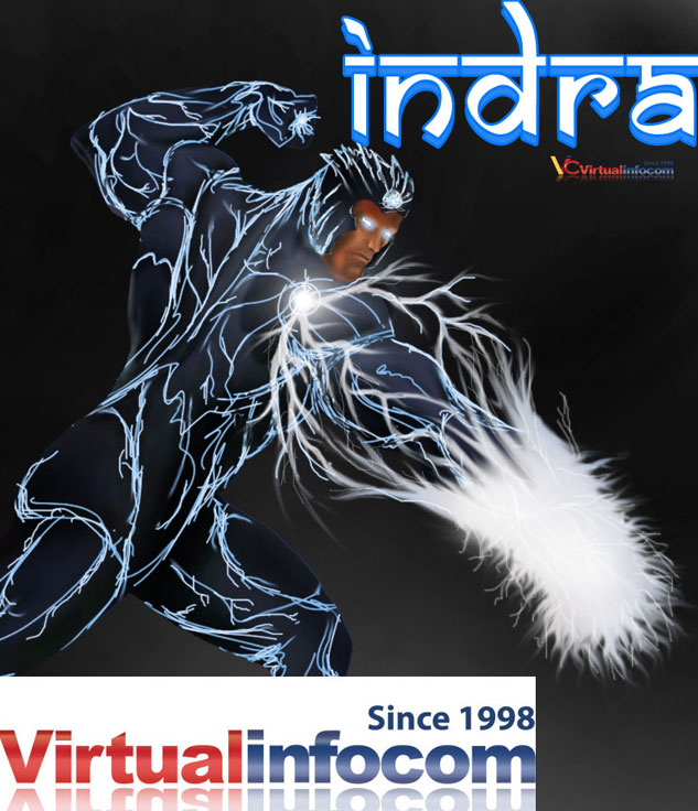 Indra God of thunder